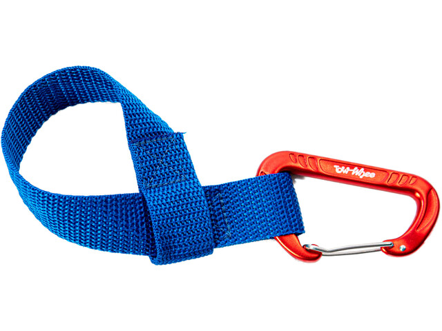 TowWhee Quick Loop Strap with Mini Carabiner blue